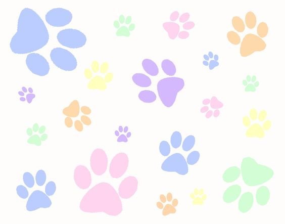 Paw clipart animal backgrounds Background Zone clipart animal Background