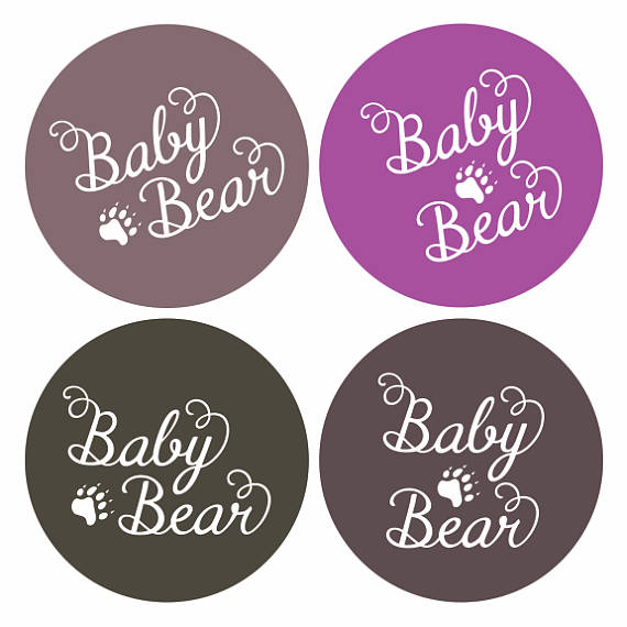 Paw clipart baby bear Baby from on file Cricut