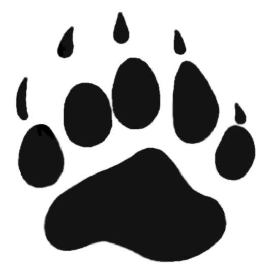 Paw clipart baby bear  on Images Clipart Big
