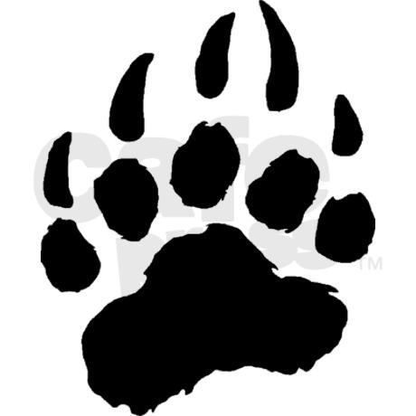 Paw clipart black bear Bear Bear print clipart schliferaward