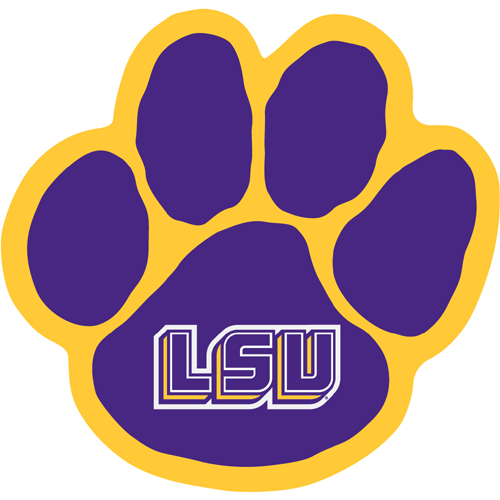 Paw clipart lsu tiger Lsu logo Lsu College collection
