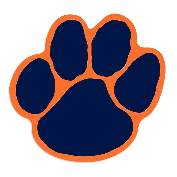 Paw clipart lsu tiger Auburn Tiger cliparts Tiger Clipart