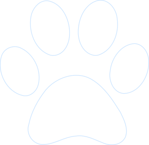 Paw clipart outline Outline Art Paw at Clip