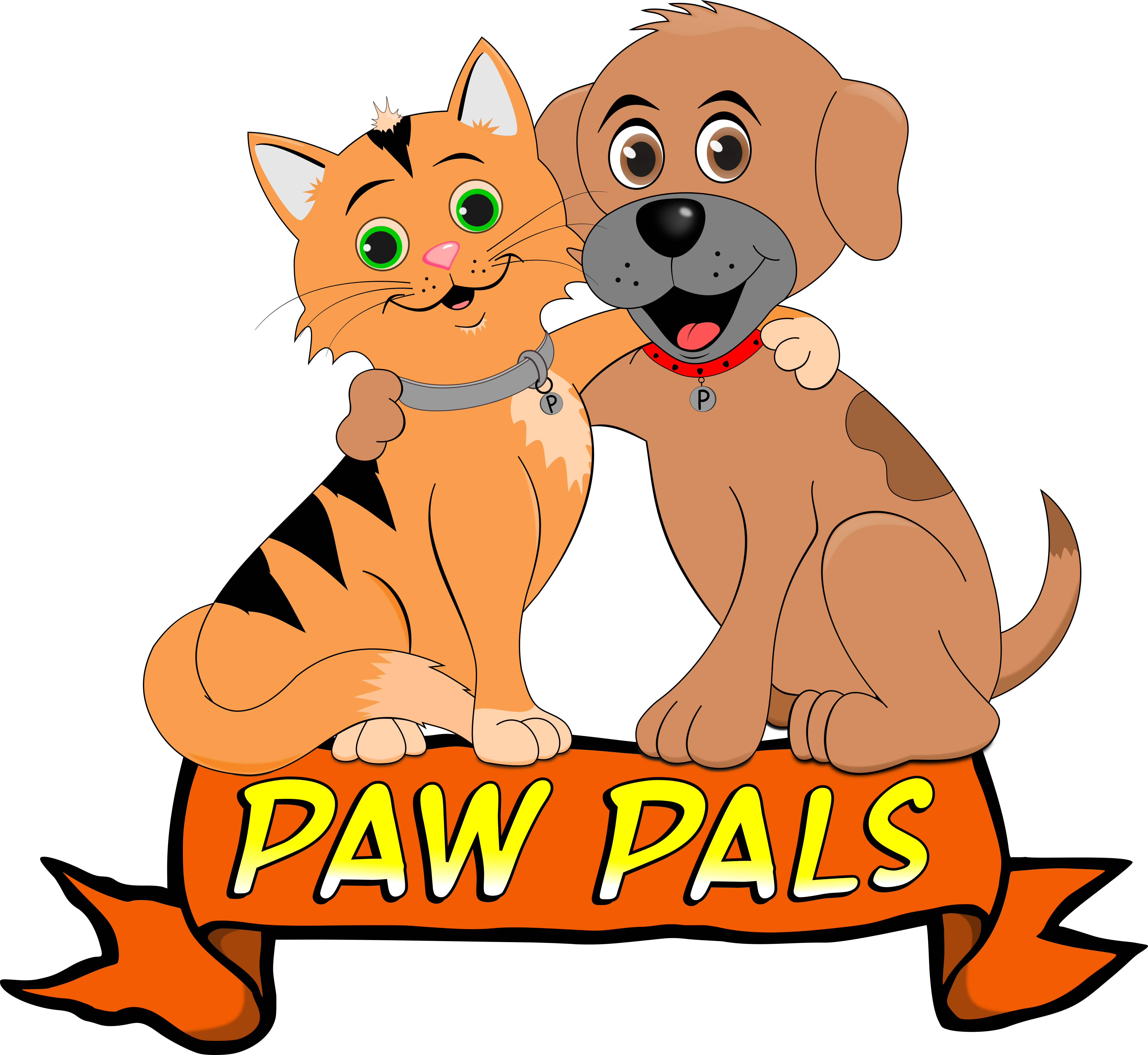 Paw clipart pet sitter Service We Pals Sitting offer
