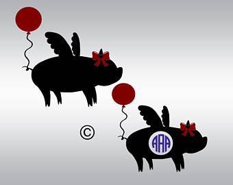 Paw clipart pig File Cameo and Files SVG