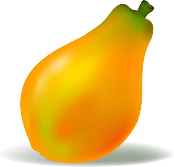 Banana clipart papaya For (24 vector vector) Papaya