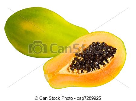 Pawpaw clipart Images Papaya on papaw fruit
