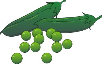 Pea clipart cartoon Peas Clipart ClipartPen Peas Cartoon