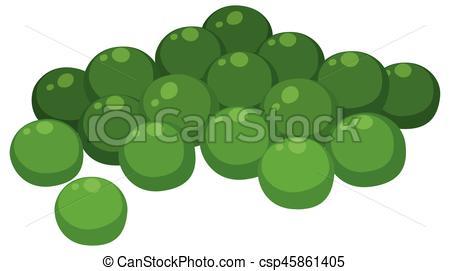 Pea clipart pile Green Clipart peas  Green
