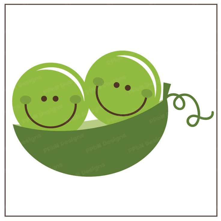 Pea clipart single On Pinterest & Two Files