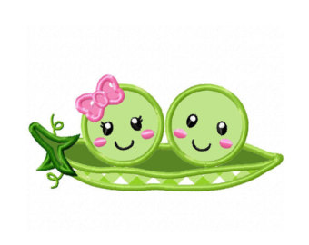 Pea clipart two Pod a a Peas in