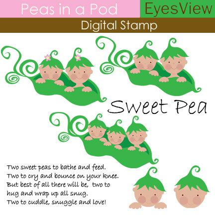 Pea clipart two Clipart a Digital in similar
