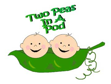 Pea clipart two A Peas In Two cliparts