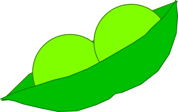 Pea clipart two A Peas In pod Two