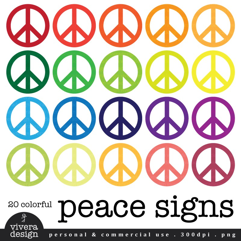 Peace clipart colorful Clipart Peace Clip Download Images