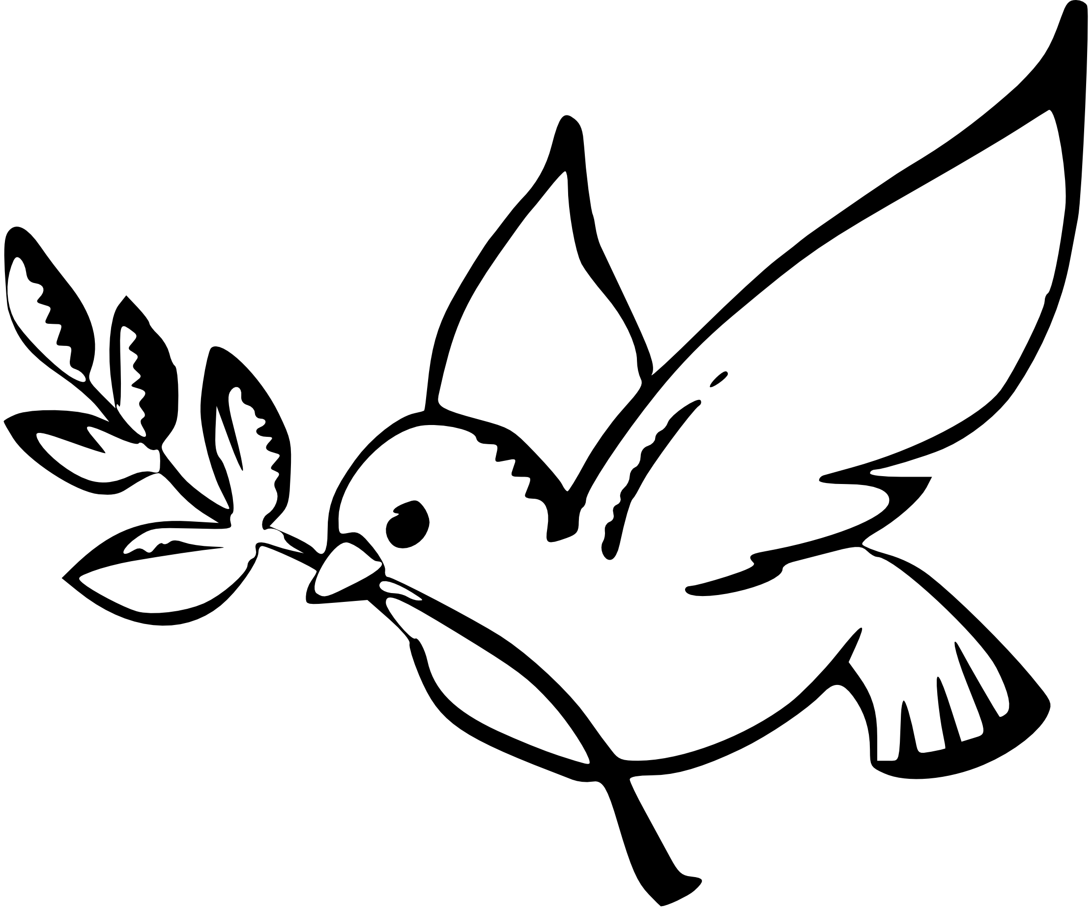 Peace clipart confirmation Art black white and art