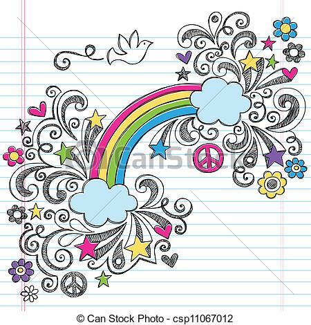 Peace clipart doodle Clip Peace Art of csp11067012