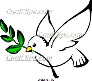 Peace clipart dove Clip Art of peace