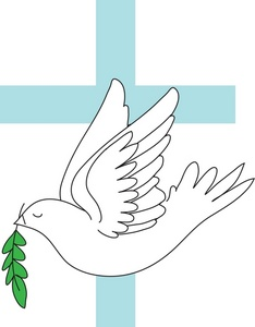 Olive clipart greek olive Dove A an branch cross