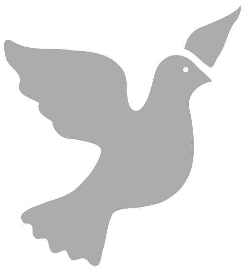 Peace Dove clipart memory #4