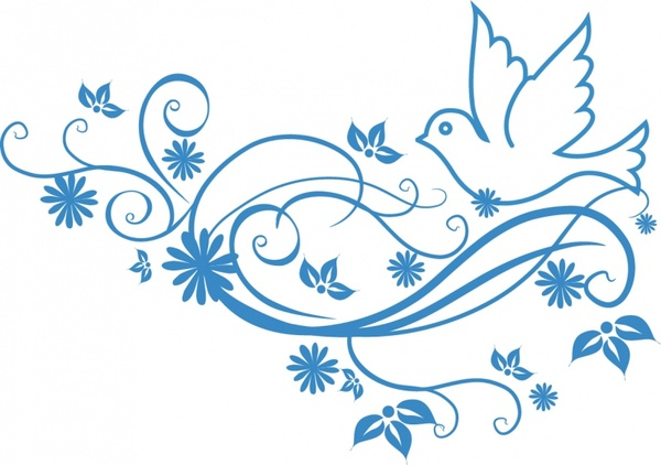 Mourning Dove clipart wedding ribbon Commercial use for Free Peace