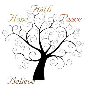 Peace clipart faith Girls Peace Faith hopefaithpeacebelieve Hope