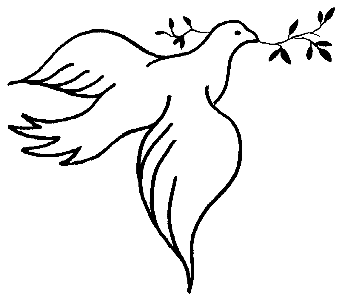 Turtle Dove clipart funeral dove #9