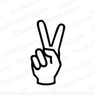 Peace clipart hand signal Clipart Clipart Sign Images Peace