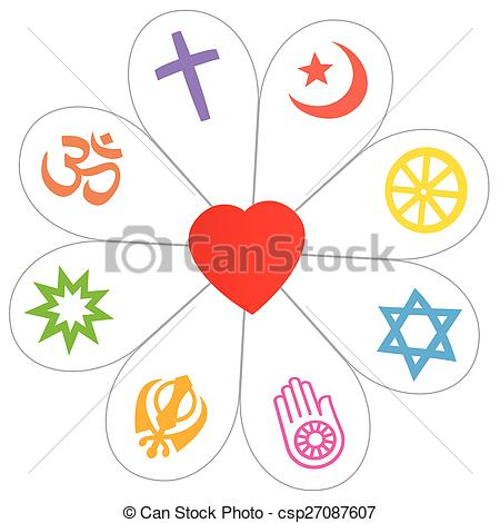 Red Flower clipart religious #10