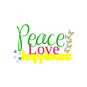 Peace clipart love and happiness Love Peace picturepush peace made