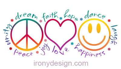 Peace clipart love and happiness Peace Archives Shop Irony love