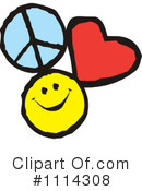 Peace clipart love and happiness Royalty Peace #1116946 Love Illustration