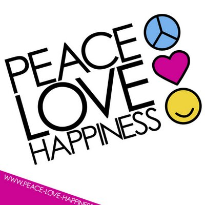 Peace clipart love and happiness Peace Twitter happiness (@PLHappiness) happiness