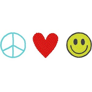 Peace clipart love and happiness Peace ☮ if ℓove Polyvore
