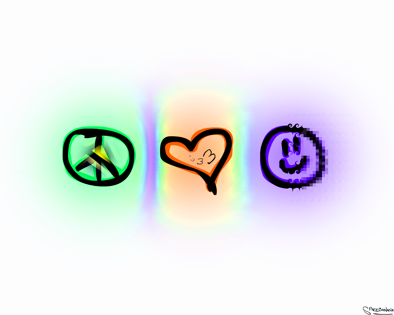 Peace clipart love and happiness  on DeviantArt favourites by