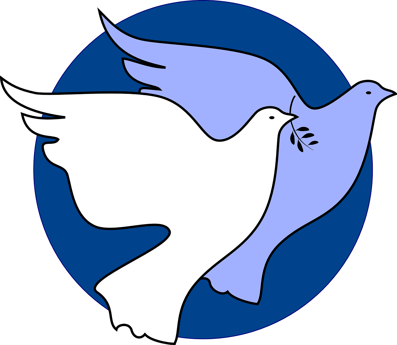 Peace clipart non violence Scheduled Carbondale New 36573_1280 Week