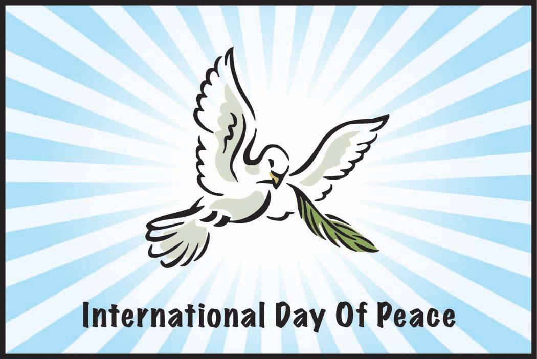 Peace clipart non violence  ≠ September violence Non