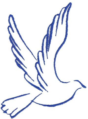 Pigeon clipart dove outline Dove A Clipart on
