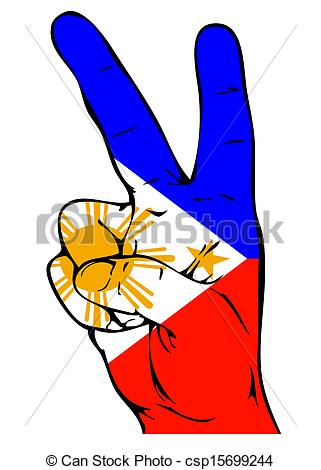 Phillipines clipart patriotism Sign the flag Drawing the