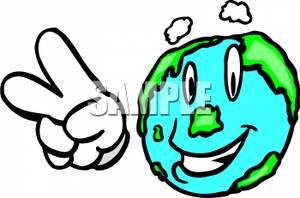 Peace Sign clipart pece Smiling Giving Peace Clipart Sign