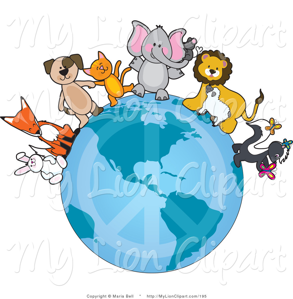 Mouse clipart cat dog Elephant Playing Brown Trunk Orange