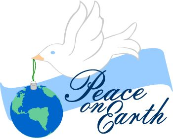 Peace Dove clipart coloring page #4