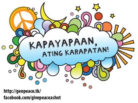 Peace clipart philippine Youth In opportunity peace Philippines