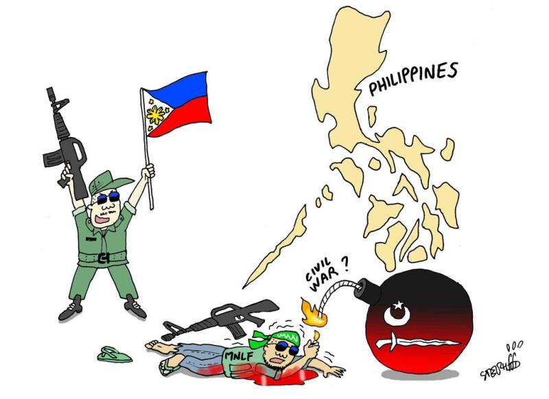 Peace clipart philippine Collison Muslim News: a in