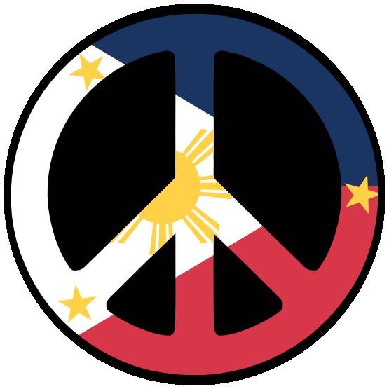 Peace Philippines Symbol  Flag