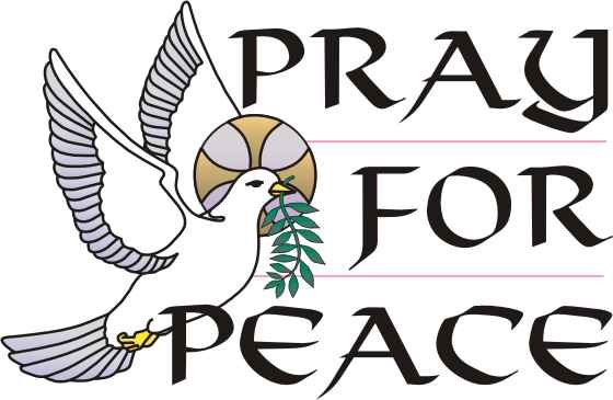 Peace clipart prayer group Message Minister's Pray for peace