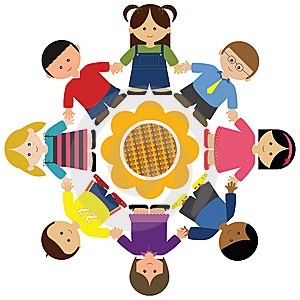 Peace clipart racial harmony High hands Peace Holding Village