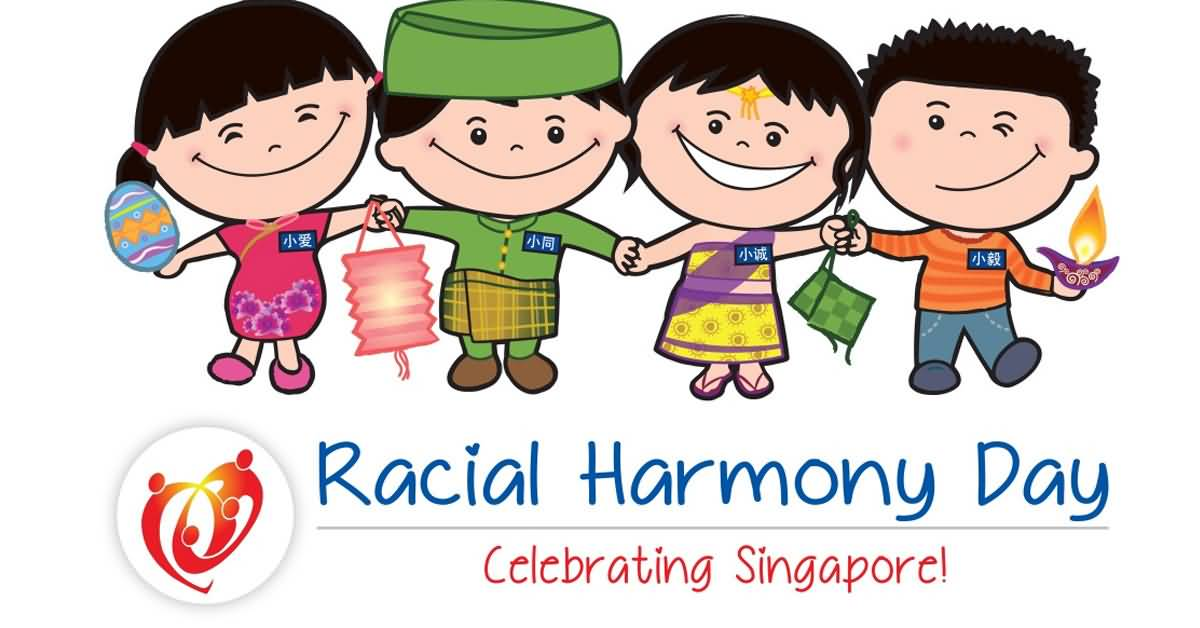 Peace clipart racial harmony Day Harmony And Photos 50+
