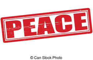 Peace clipart the word Illustration peace with vector 79