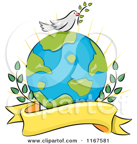 Peace clipart the world drawing Make with demotivator Clipart